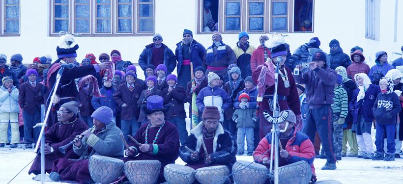 A winter festival