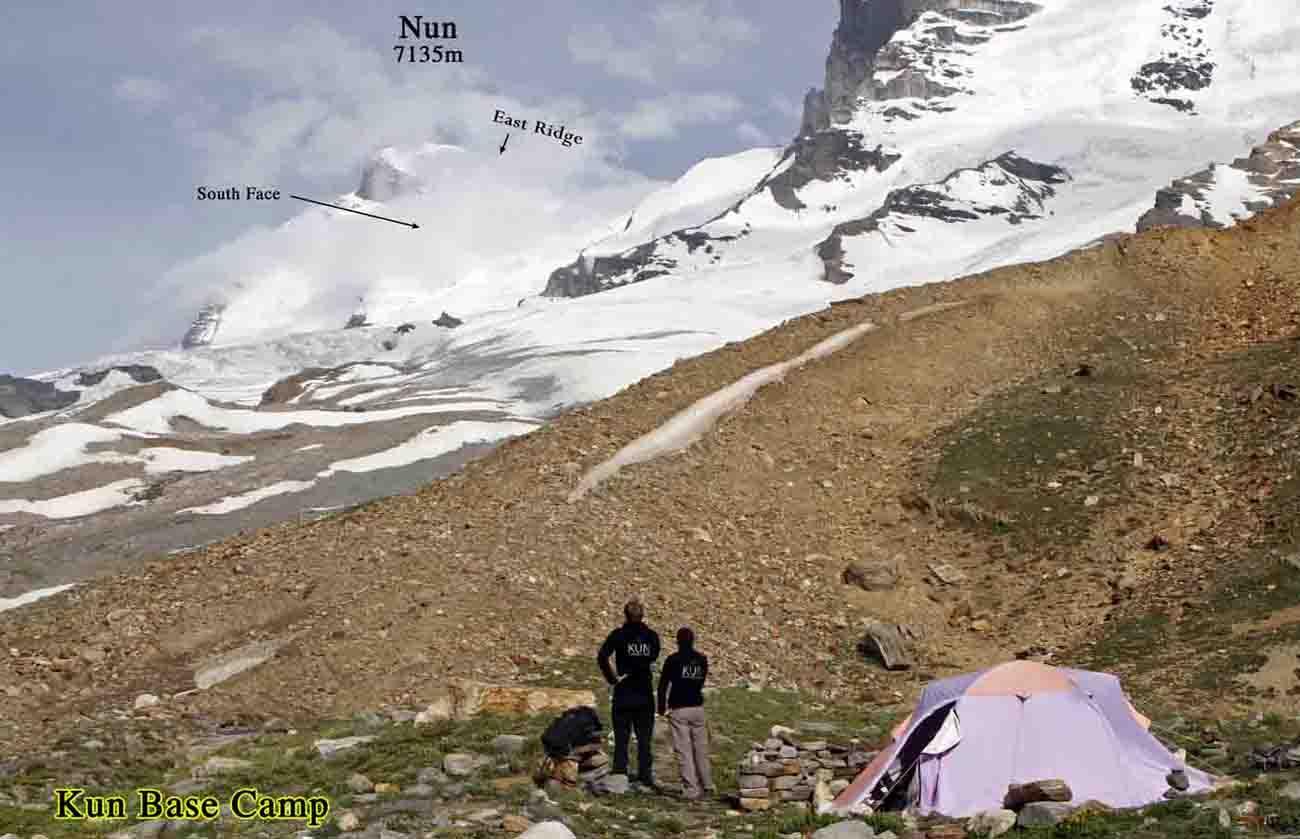 Kun Base Camp