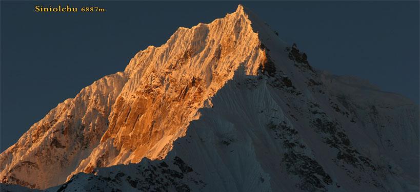 Sunrise on Siniolchu