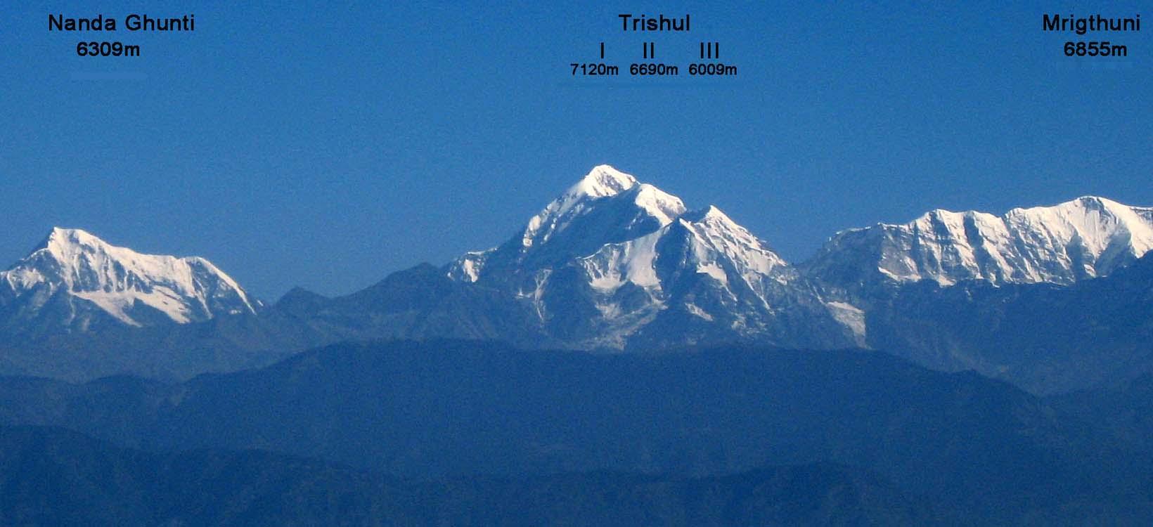Trishul from Kausani
