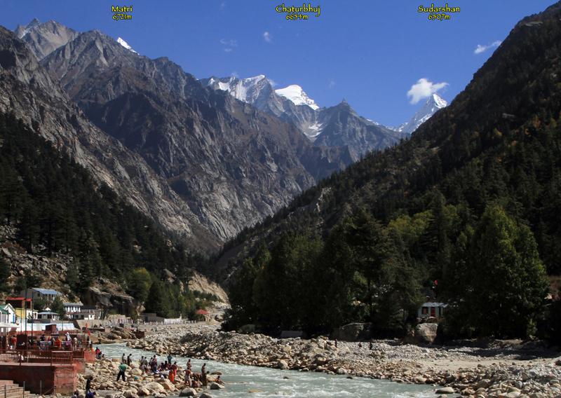 View from Gangotri