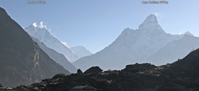 View from Khumjung